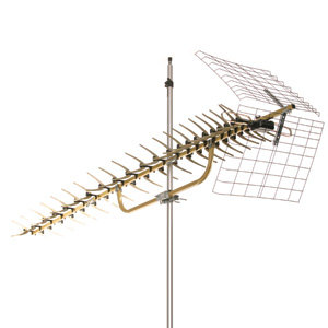 91XG Unidirectional Ultra-Long-Range Attic/Outdoor HDTV Antenna