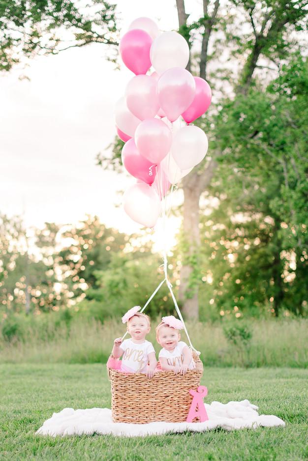 Amazing Twins 1St Birthday Cake Smash Greensboro Nc Birthday Cards Printable Trancafe Filternl