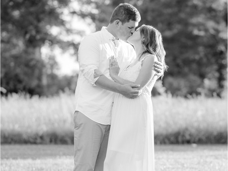 Tyler & April | Greensboro, NC Engagement Session