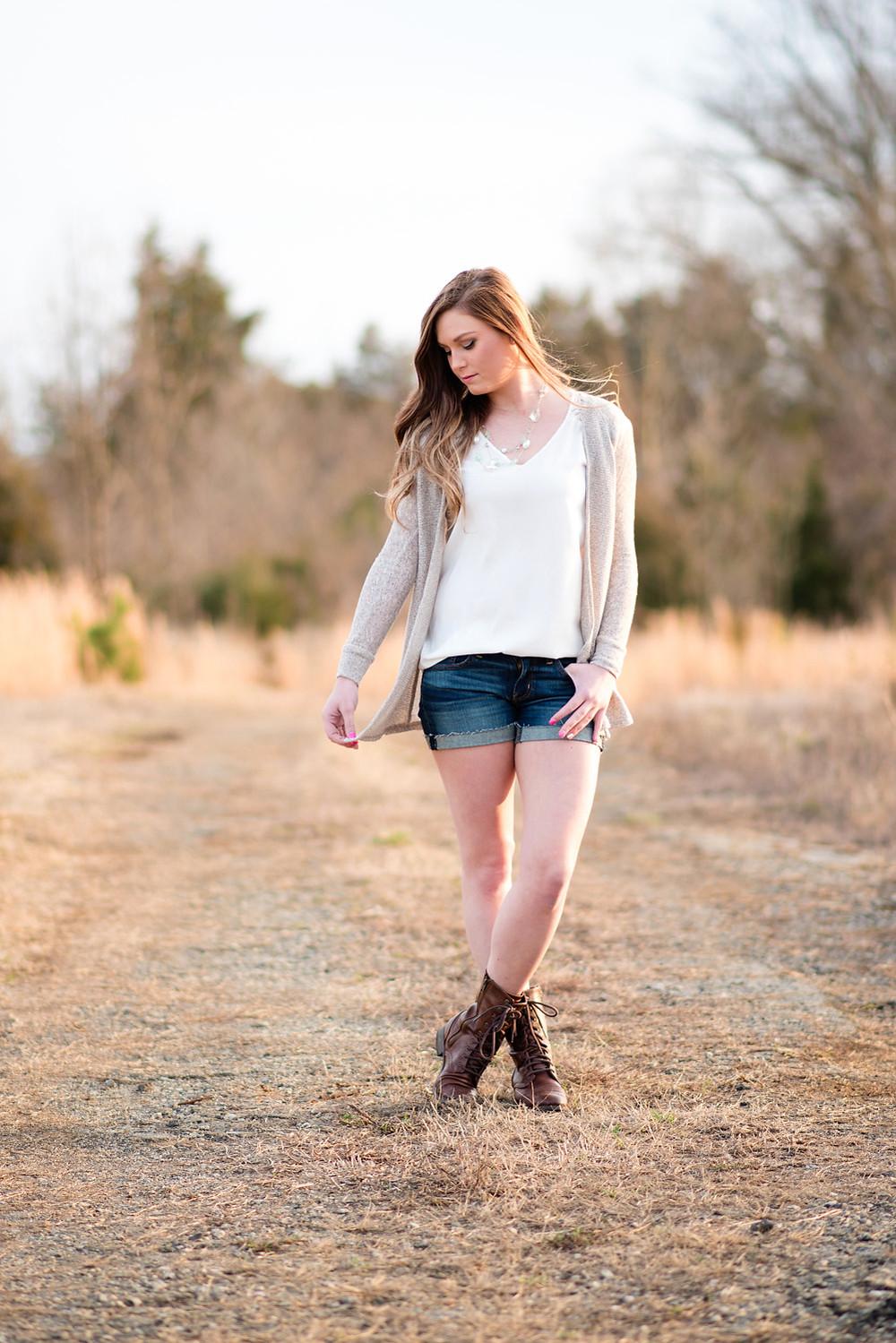 editorial senior photography