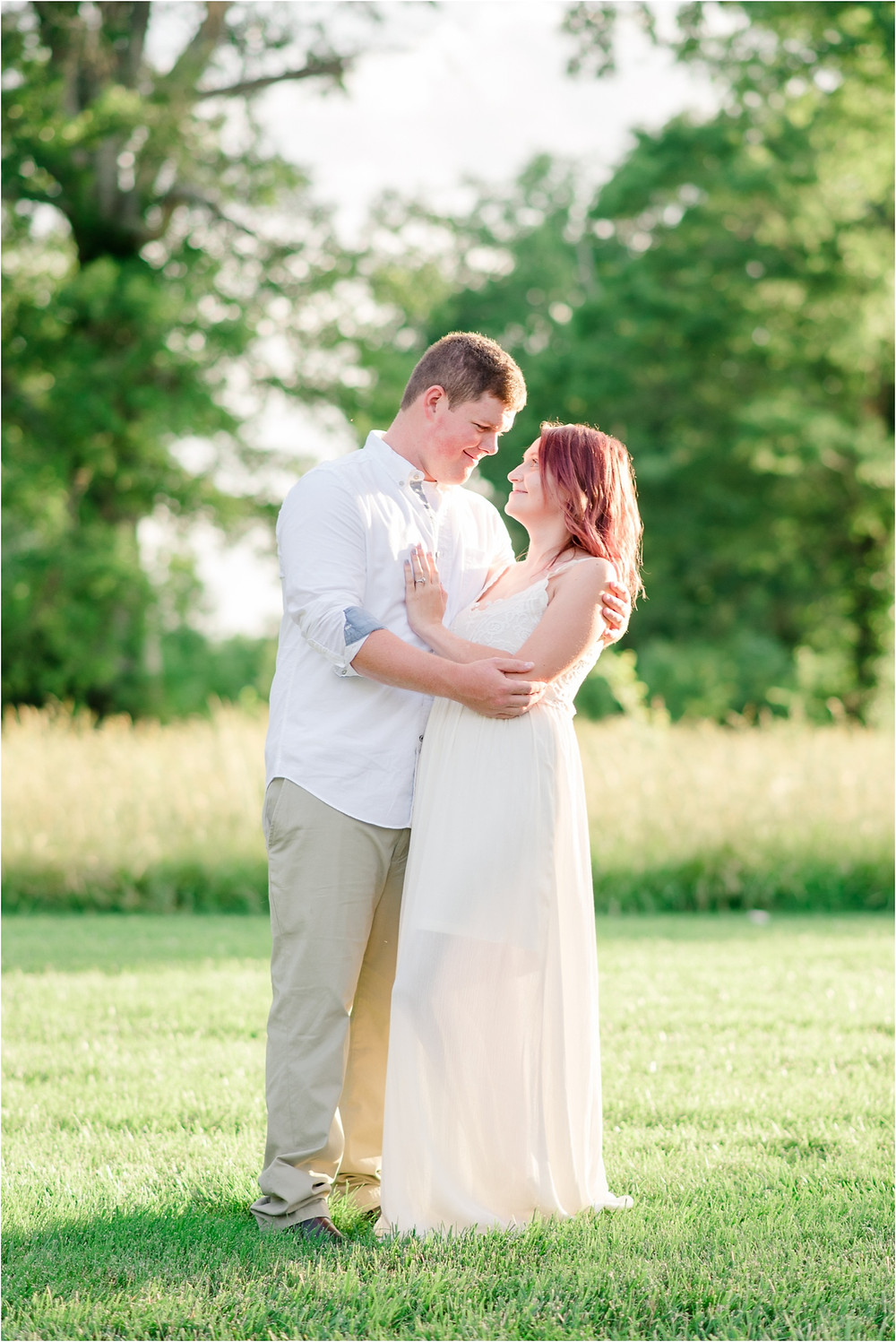 Pleasant Garden engagement session