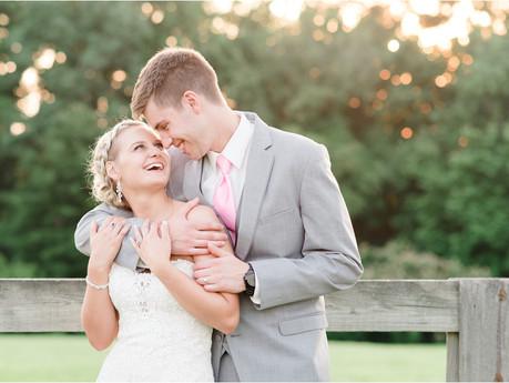 Jarrod & Destiny | The Farm at Rock Hill Wedding | Burlington, NC