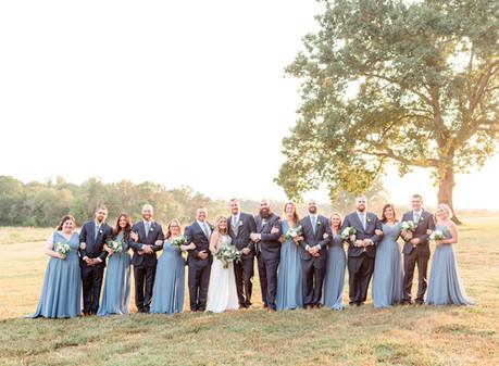 Summerfield Farms Fall Wedding | Logan & Amanda