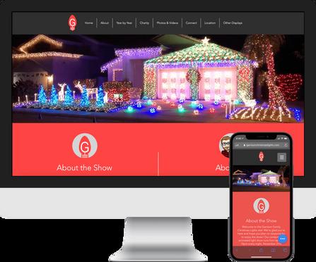 Garrison Family Christmas Lights Show