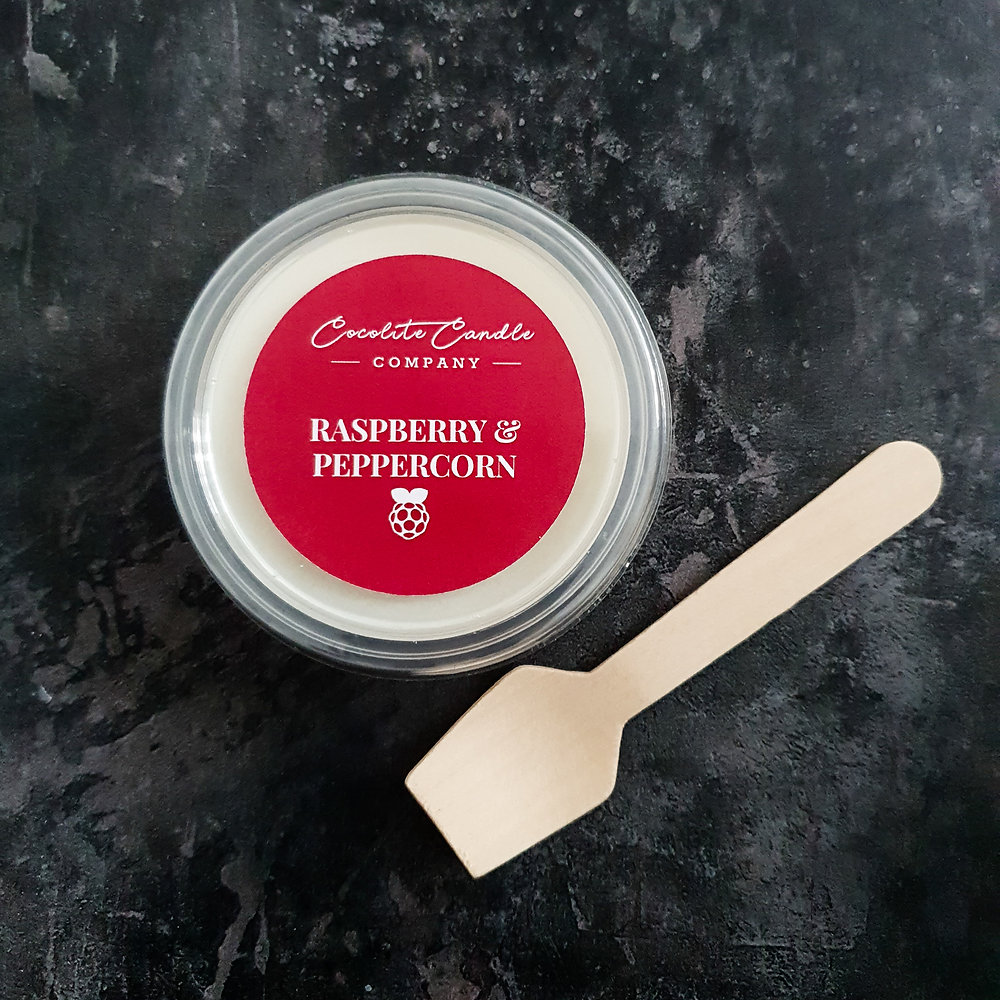 Raspberry and Peppercorn Wax Melt