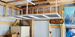 diy overhead storage kit