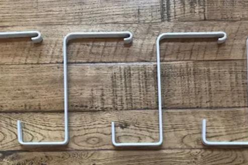 4-Pack Flat Hooks