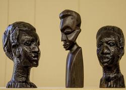 Wood busts