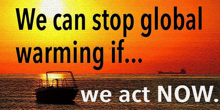 Global Warming Banner