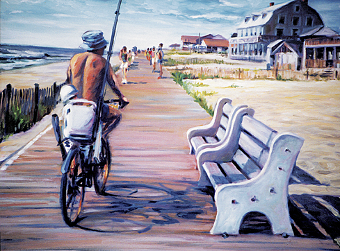 Boardwalk Biker