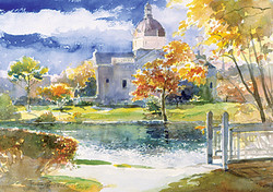 Autumn Moods, Spring Lake