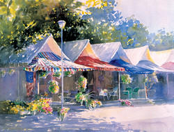 Tents On A Summer Afternoon