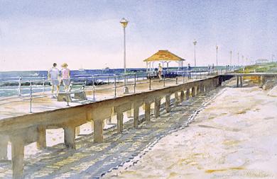 Boardwalk Shadows