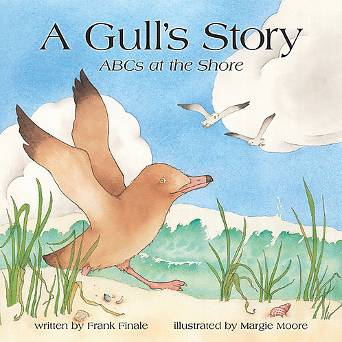 A Gull's Story, Part 1- ABCs at the Shore