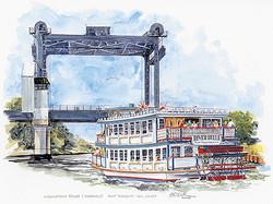 Lovelandtown Bridge & River Belle