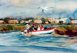 Crabbers In The Bay