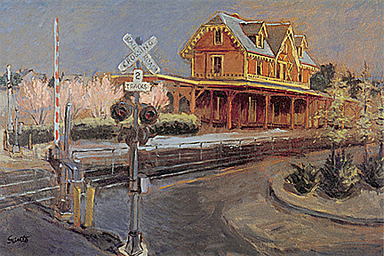 Red Bank Train Station