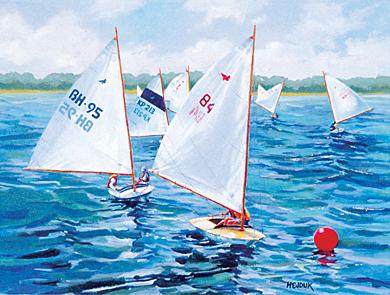 Duckboat Race On Barnegat Bay