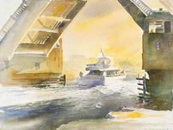 Shark River Bridge, Early Morning