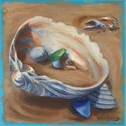 Shells And Sea Glass