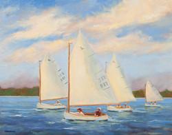 Harvey Cedars Catboat Race