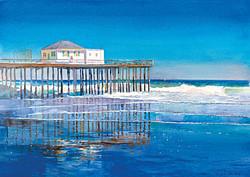 Ocean Grove Pier Reflection