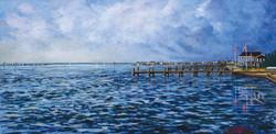 Normandy Beach Docks