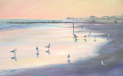 Gulls At Twilight