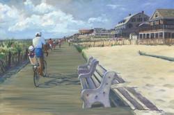 Morning Boardwalk, Lavallette