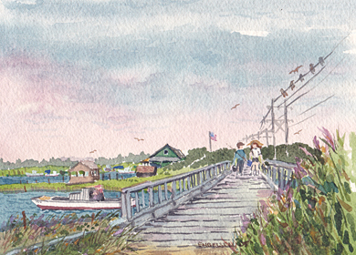Seven Bridges (Little Egg Harbor)