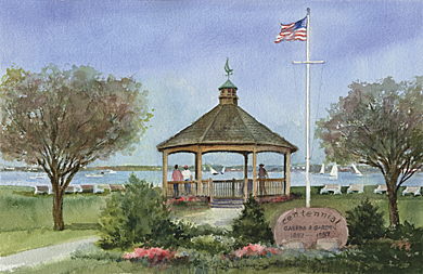 By The Shore, Lavallette Gazebo