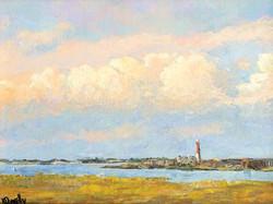 Sunlit Lighthouse