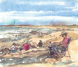 Artists On The Beach
