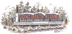 The Old Long Beach Island Sign