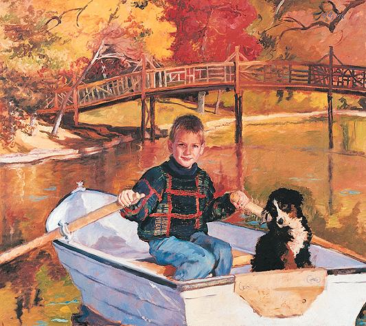 Alex & Daisey at Spring Lake
