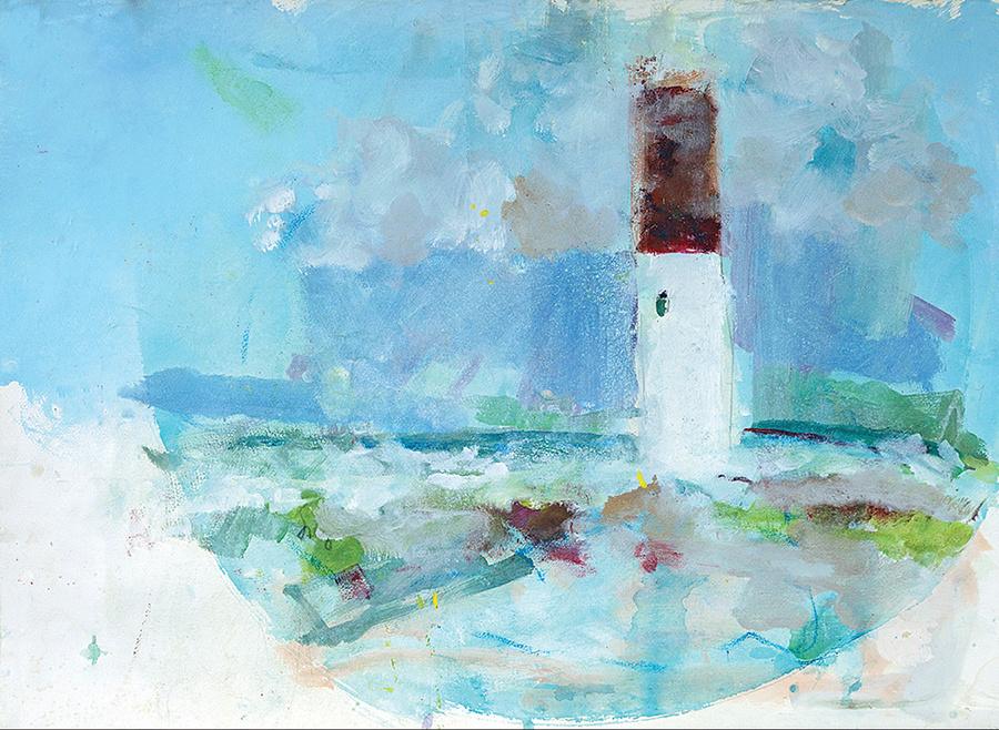 Barnegat Lighthouse Lightning Storm