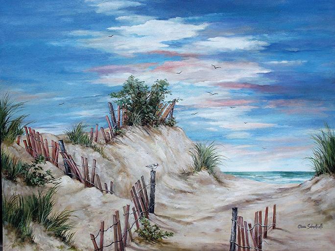 Through The Dunes, Island Beach