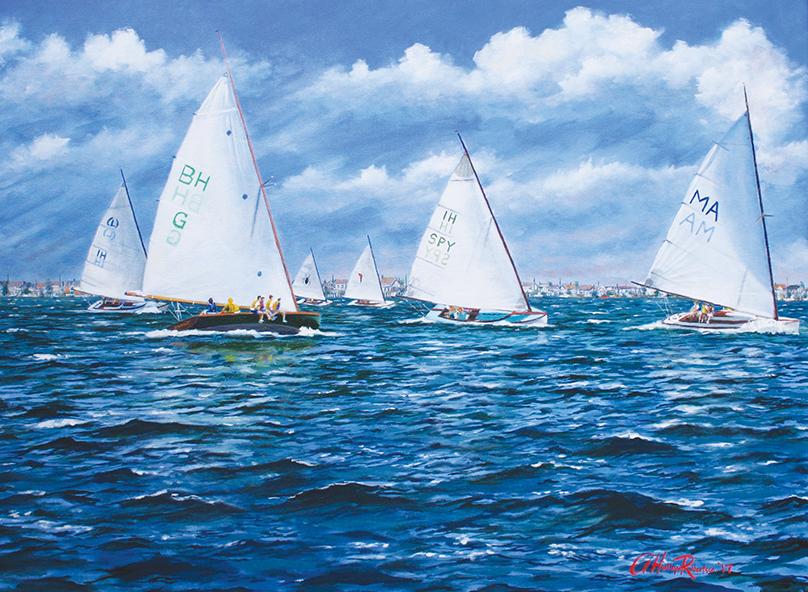 Race Day, Barnegat Bay