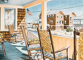 The Cedar Porch