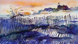 Sea Girt Lighthouse In Winter