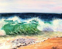 Breakers On The Beach