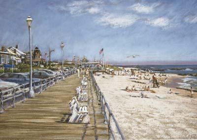 Sea Girt Boardwalk, North End
