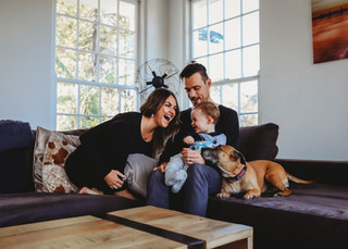 "<img src=""family photo.jpg"" alt=""Family photoshoot on the sofa with a dog"">"