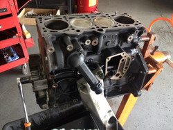 Volkswagen engine repair