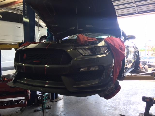 2018 Mustange install camber kit