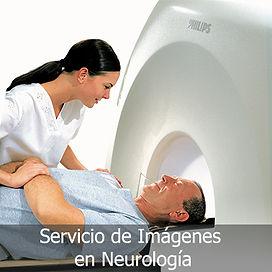 Servicio de imágenes en neurología, Resonancia, PET