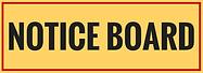Notice Board Sticker