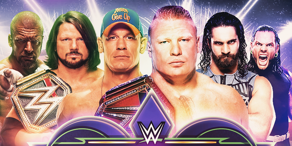 WWE Wrestle Mania 34