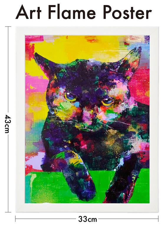 フレームポスター_黒猫1.jpg