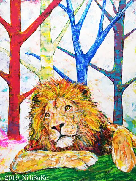 MoRi no Lion_2019_NiJi$uKe